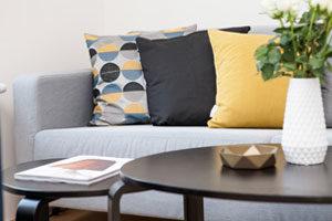 photo de l'intérieur d'un appartement moderne et design en sous location